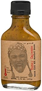 Pain Is Good Honey Cayenne Mustard Sauce Batch 164 375-ounce Bottle Pack Of 6 from Pain Is Good