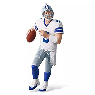 Hallmark 2016 Christmas Ornament NFL Dallas Cowboys Tony Romo Ornament