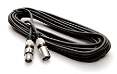 Microphone Lead: 10m / 30ft long XLR to XLR Balanced Professional Mic Lead
