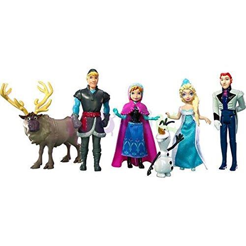 Disney - Statuine Frozen, 6 pezzi