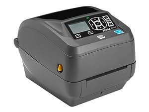 Zebra ZD500R - Label printer - monochrome - direct thermal / thermal transfer - Roll (10.8cm) - 300 dpi - up to 102 mm/sec - parallel, USB, LAN, serial, Wi-Fi(n), Bluetooth 3.0 EDR(ZD50043-T0E3R2FZ)