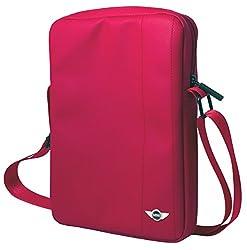 Mini Cooper PU Leather Tablet Bag 'You Me Mini', Red (MNTA10YMMRE)
