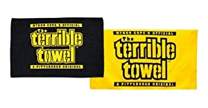 Pittsburgh Steelers Official Terrible Towels - Set of Two - NFL from SteelerMania