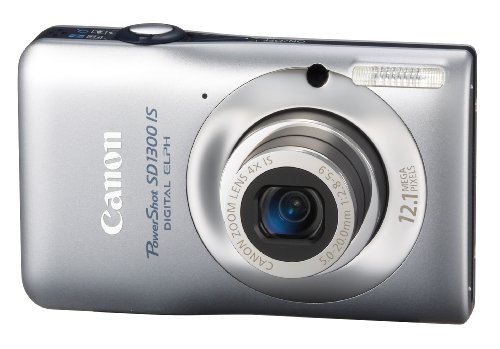 Canon PowerShot SD1300 IS is one of the Best Ultra Compact Digital Cameras Overall Under $300