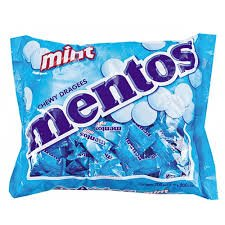 Mentos Chewy Mints, Classic Fresh Mint Flavor (100 Pieces)