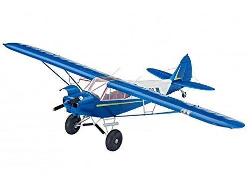 Revell-Modellbau-04890-Piper-PA-18-with-Bushwheels-im-Mastab-132