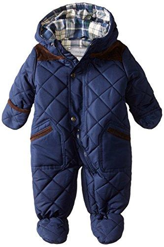 Rothschild Baby-Boys Infant Quilt Pram, Navy, 3-6 Months