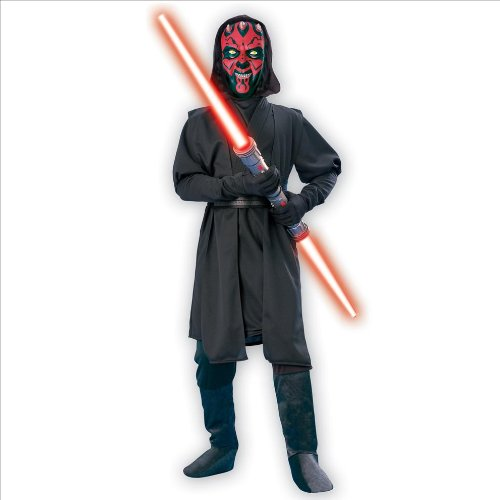 Star Wars Darth Maul Child Costume (As Shown;Large) front-514983