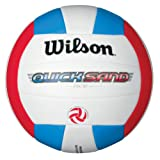 Wilson Quicksand Ace Outdoor Volleyball (Red)