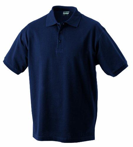 James & Nicholson - Polo Classic, Polo Uomo, Verde (petrol), XXX-Large (Taglia Produttore: XXX-Large)