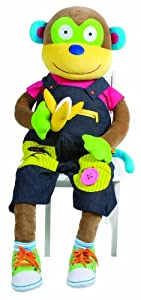 ALEX Toys Little Hands Giant Learn to Dress Monkey