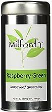 Milford T - Raspberry Green Loose Leaf Green Tea