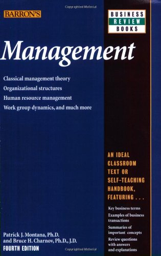 Management (Barron's Business Review)