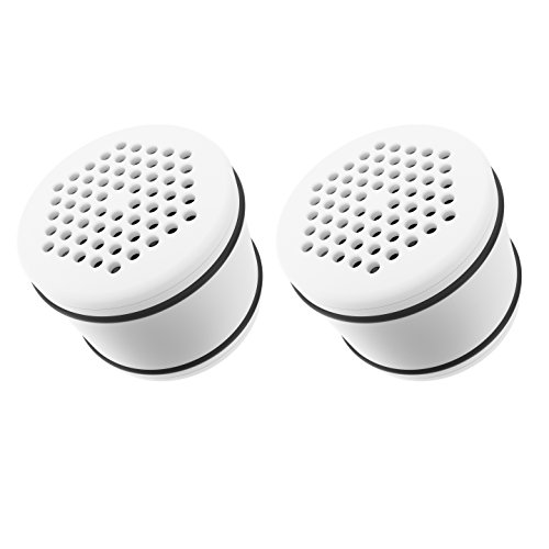2 Pack AQUACREST Culligan WHR-140 Shower Filter Cartridge Replacement (Culligan Shower Filters compare prices)