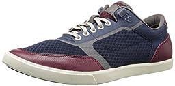 Cole Haan Men\'s Owen Fashion Sneaker, Blazer Blue/Zinfandel, 10 M US