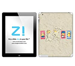 Zing Revolution Despicable Me 2 - Sand Art Tablet Cover Skin for iPad 2 (Wi-Fi/Wi-Fi + 3G) (MS-DMT300250)