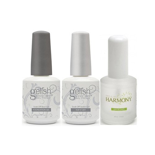 Harmony Foundation Base, Top If Off And Ph Bond - 3 Pack