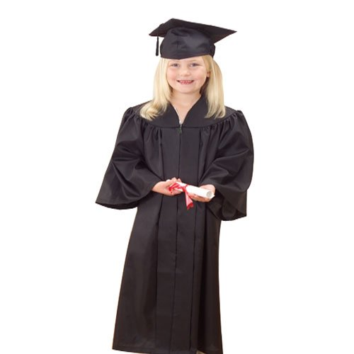 U.S. Toy Graduation Cap and Gown, Black (Graduation Cap And Gown For Kids compare prices)