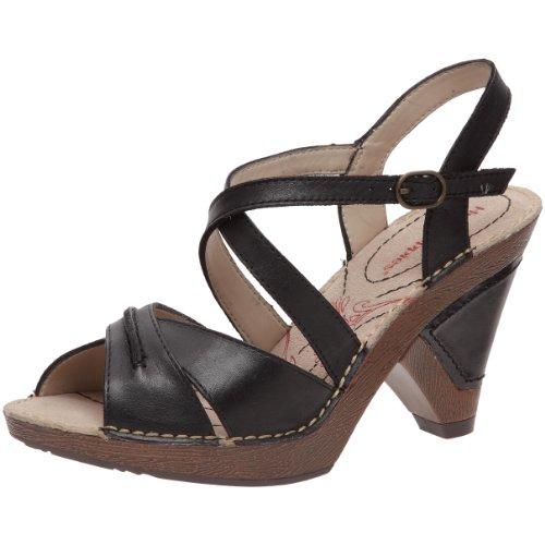 Hush Puppies Women's Siri Black Ankle Strap Heels H25646000 5 UK