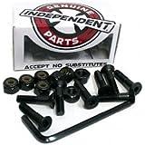 "Independent Genuine Parts 1"" Pk/8 Allen Hardware Black - Single Set"
