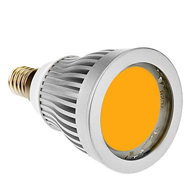Luo E14 7W 1Xcob 600-630Lm 3000-3500K Warm White Light Led Spot Bulb (85-265V)