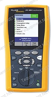 Fluke Networks DTX-1200 Cable Analyzer