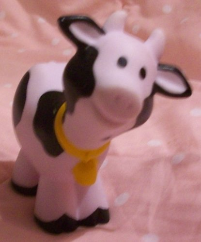 Buy Low Price Mattel Fisher Price Little People Farm Barn Cow Replacement Figure Doll Toy (B00258JW04)