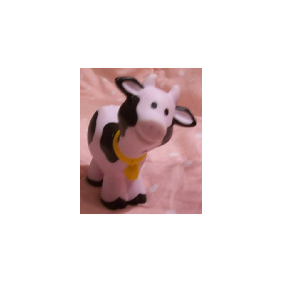 Fisher Price Little People Farm Barn Cow Replacement Figure Doll Toy