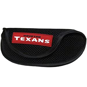 NFL Houston Texans Soft Sport Glasses Case by Siskiyou Sports