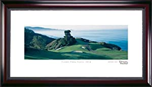 Torrey Pines North Course #6 Hole Framed Golf Picture by Stonehouse Golf