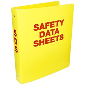 Nmc Rtk52c Right To Know Binder Quot Material Safety Data