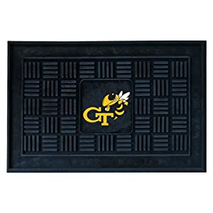 Buy FANMATS NCAA Georgia Tech Yellow Jackets Vinyl Door Mat by Fanmats