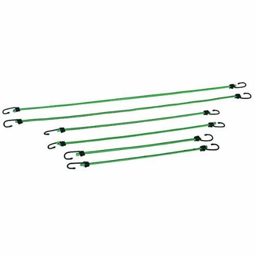 wenzel-51300-set-di-6-corde-elastiche-con-gancio-verde