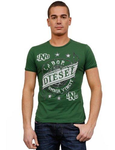 Diesel Aves 54h Flare Green Man T-shirts Make Men - Xl
