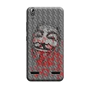 Qbic Designer 3D Printed Hard Mobile Back Case Cover for Lenovo A6000