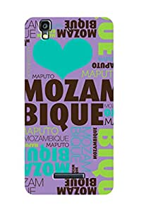 ZAPCASE PRINTED BACK COVER FOR MICROMAX YU YUREKA