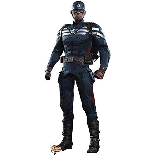 (핫 토이즈) Hot Toy 피규어 캡틴  아  Captain America Winter Soldier 병행수입품 [병행수입품] (Size:One-Size)