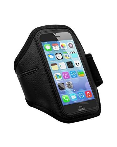 Unotec Sport-Armband für 5/5S Schwarz iPhone Armschnalle für 5/5S