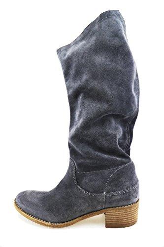 VIC 35 EU stivali donna grigio camoscio AG85