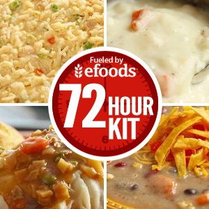 Emergency Survival Food Supply - 72 Hour Kit - 16 Servings from MyPatriotSupply