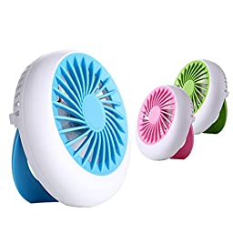 Bangcool Summer Mute Mini USB Rechargeable Handheld Fan(Blue)