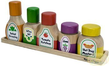 Melissa & Doug Deluxe Wooden Magnetic Kitchen Bottle Collection - Buy Melissa & Doug Deluxe Wooden Magnetic Kitchen Bottle Collection - Purchase Melissa & Doug Deluxe Wooden Magnetic Kitchen Bottle Collection (Melissa & Doug, Toys & Games,Categories,Play Vehicles,Wood Vehicles)