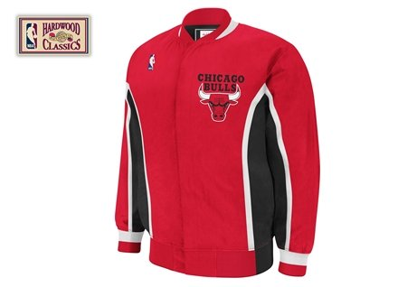 Mitchell & Ness Chicago Bulls Warm up Jacket Extra Extra Extra Large Red at Amazon.com