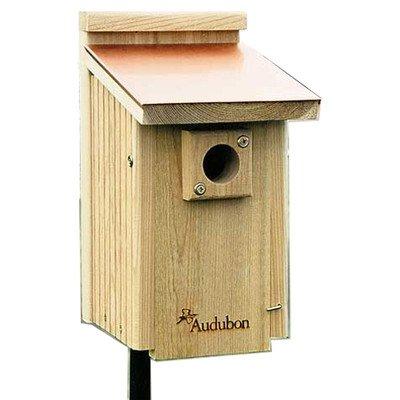 Cedar Bluebird Birdhouse With Copper Top: Yes (Audubon Bluebird House compare prices)