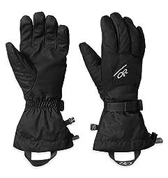 Outdoor Research Men\'s Adrenaline Gloves, Black, Medium
