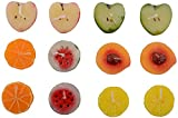 VSC Wax Candle with Fruit Fragrance (13 x 3 x 17 cm, Red, Pack of 12)