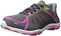 RYKA Women\'s Influence 2 Cross-Training Shoe, Steel Grey/Iron Grey/Athena Pink, 7 M US