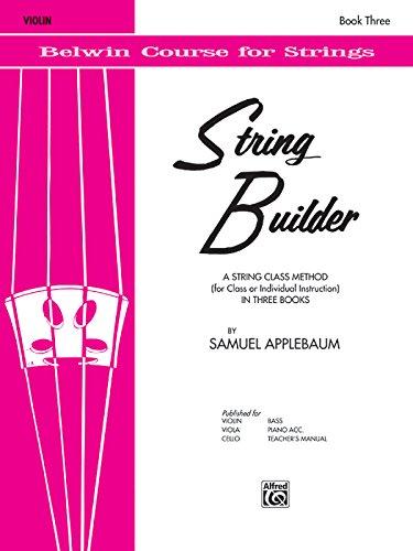 String Builder, Bk 3: Violin (Belwin Course for Strings)