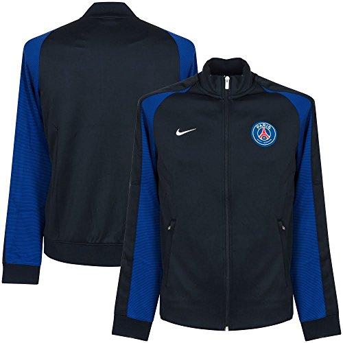 Nike FFF N98 Psg M Nsw Aut Trk Jkt-Giacca della linea Paris Saint Germain, da uomo, UOMO, Psg M Nsw N98 Trk Jkt Aut, Azul (Dark Obsidian / Blanco), S