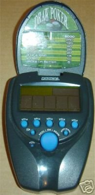 Buy Radica Draw Poker Electronic Handheld Game
